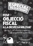 17 personas han hecho Objeción Fiscal al Gasto Militar este año en Alacant