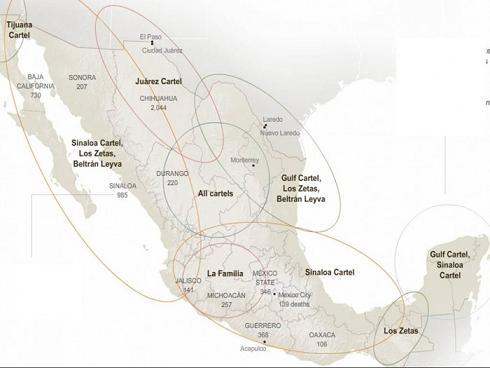 Cárteles de droga en México