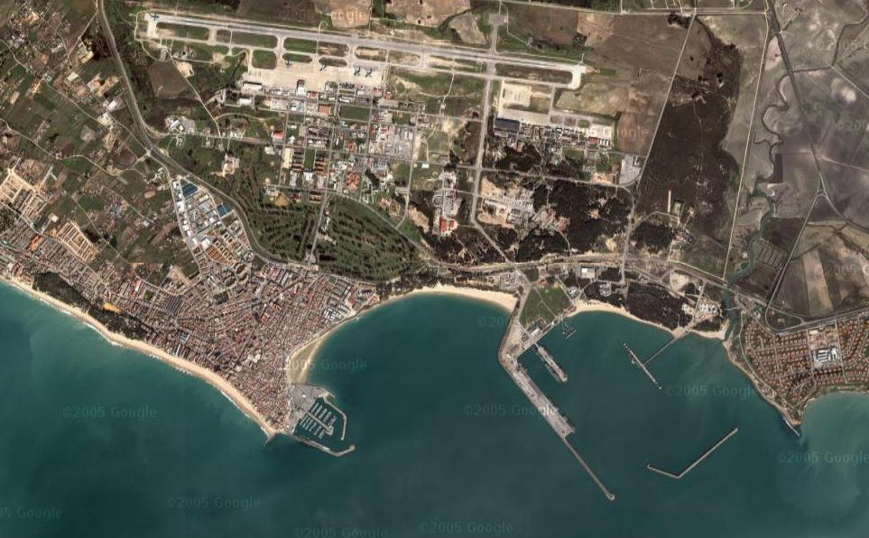 Resultado de imagen de base aérea de Rota (España)